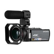 4K Camcorder Video Camera WiFi IR Infrared Night Vision ORDRO 1080P Full HD Cama