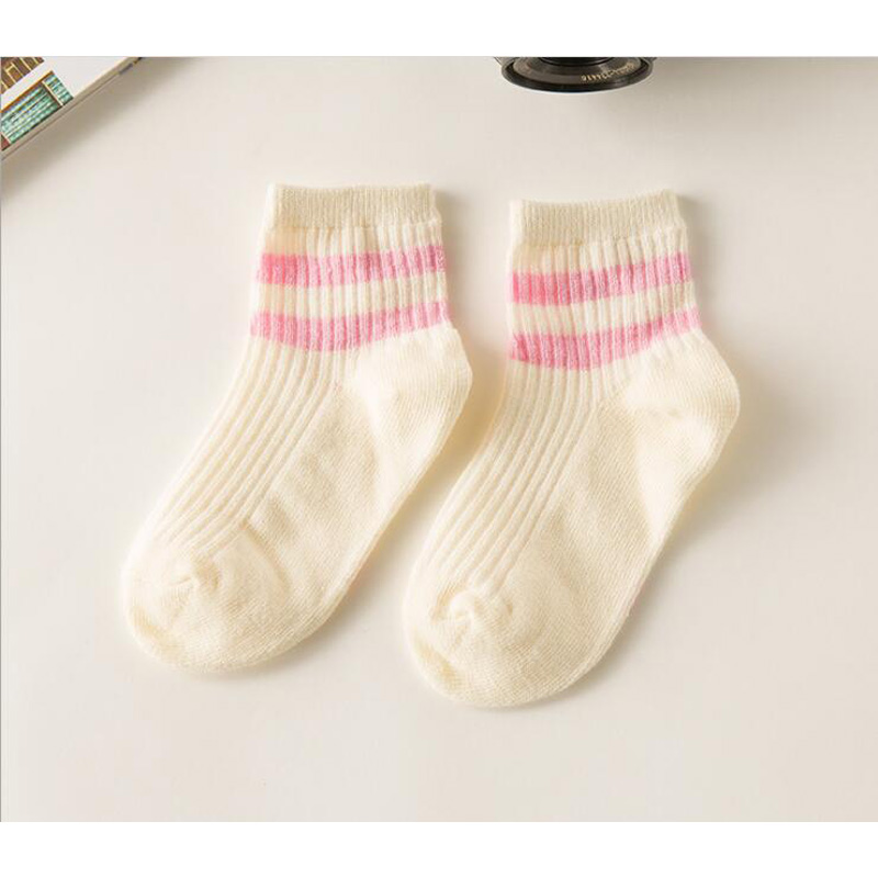 kids Socks  Cotton Boy's Girl's Lovely  striped style All-match Baby Children's Sock 1-10year 10pair=20pc=lot sales direct 5