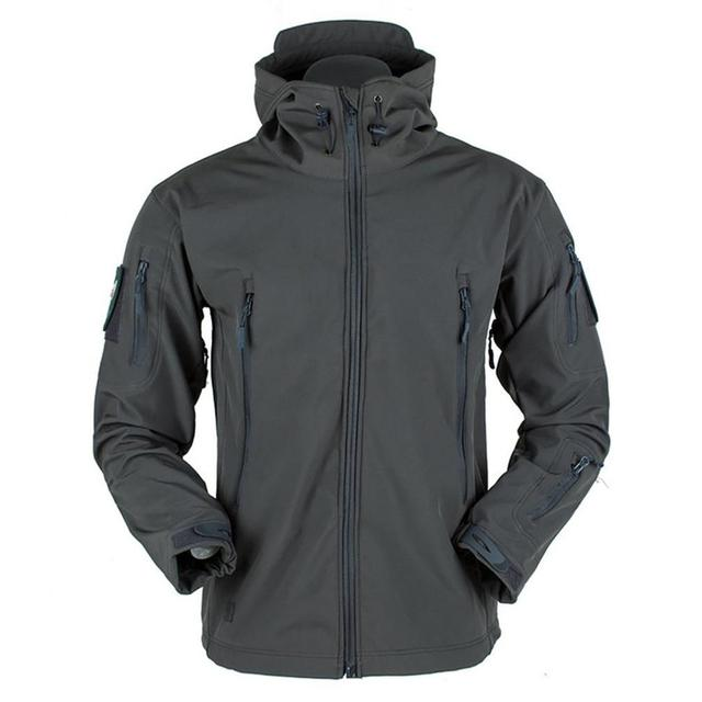 Men's jacket Outdoor Soft Shell Fleece Men's And Women's Windproof Waterproof Breathable And Thermal Three In One Youth Hooded 3