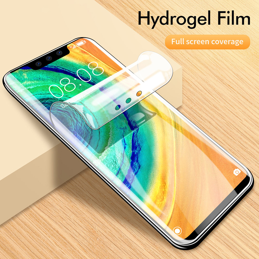 soft full cover hydrogel film for <font><b>huawei</b></font> <font><b>mate</b></font> 10 <font><b>20</b></font> <font><b>pro</b></font> 20x 30 lite phone screen protector Not <font><b>Glass</b></font> smartphone protective film image