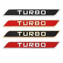 สติกเกอร์รถสัญลักษณ์ Trunk Badge Auto Decals สำหรับ Turbo โลโก้ BMW Audi Volkswagen VW Ford Focus Honda Volvo Jeep Opel nissan Toyota