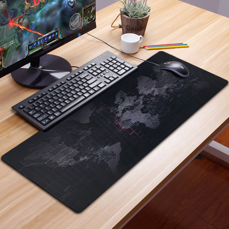 Gaming Mousepad Print Keyboard Mouse Pad Gamer XXL Razer Mouse Pad Gel Map Cushion Large Cushion Soft Surface Marvel Table Mats
