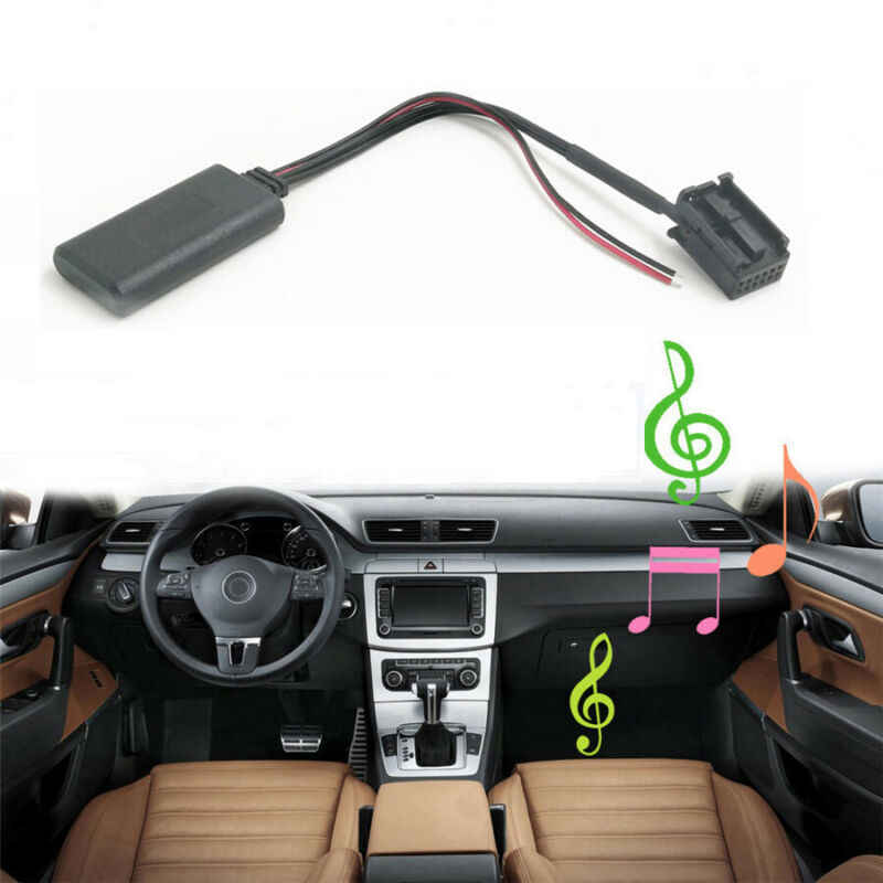 AUX-INAUX Auto Bluetooth Adapter Stereo Sender Empfänger Kabel CD30 CDC40 CD70