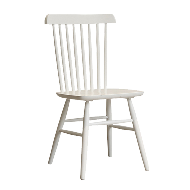 Nordic classic wild small apartment new color solid wood chair Windsor chair cafe desk simple home dining chair