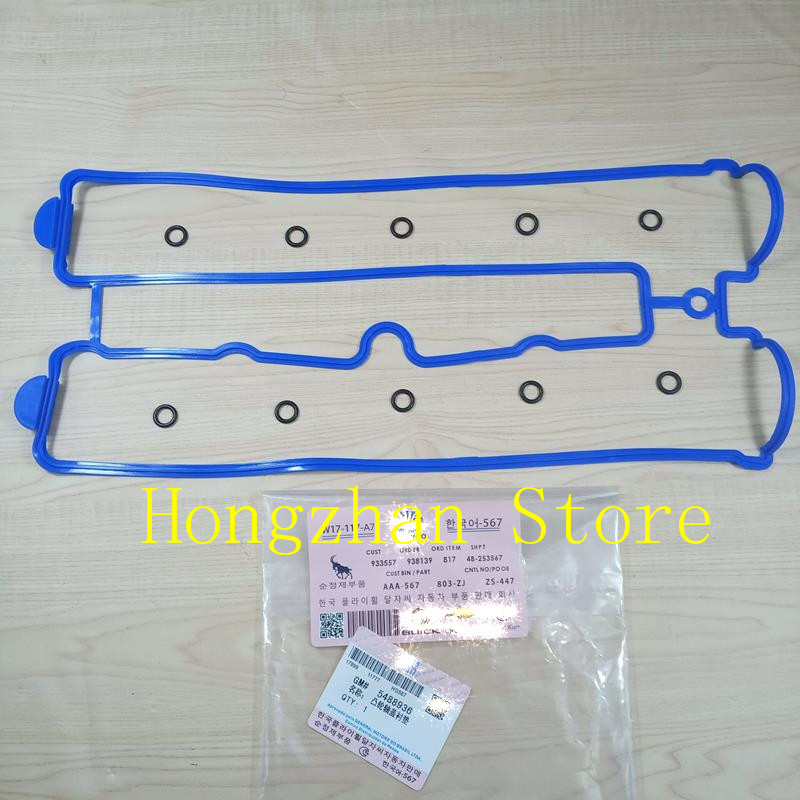 Aluminum cover Valve Cover Gasket for Daewoo Buick Excelle 1 8 Regal Chevrolet Captiva Opel Antara 2 4L Epica OPEL Vectra Astra