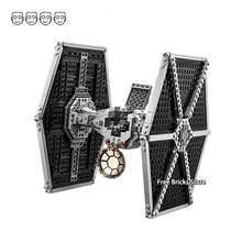 Fit Star Series Wars 75211 Imperial TIE Fighter Figures 75101 DIY Educational Building Blocks Toys For Children Gifts Bela 10900 цена