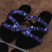 Summer Women Sandals Bling Slippers Ladies Sandalias Flats Gladiator