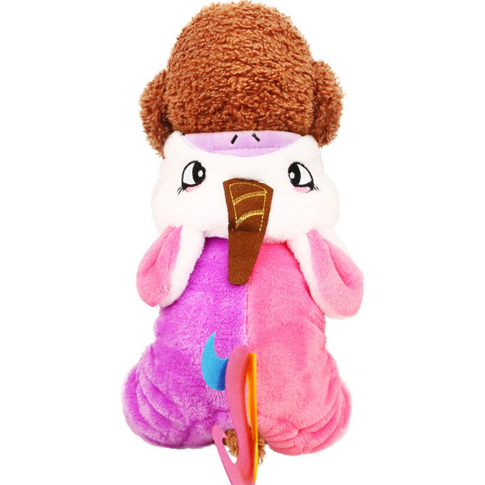 Pet Dog Unicorn Costume Autumn Winter Warm and Cold Protection