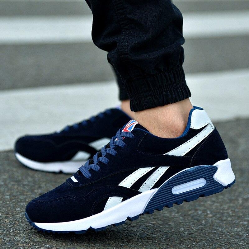 Fashion Breathable Men Casual Shoes Men Vulcanize Shoes Sneakers No-slip 2020 Male Air Mesh Lace-Up Men Shoes Best Gift For Boys