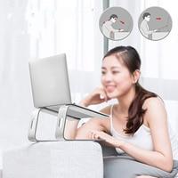 Besegad Universal Aluminum Alloy Laptops Tablets Cooling Support Stand Bracket Holder Riser for Apple Macbook Mac Book Samsung