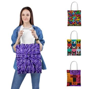 Camouflage Tote Bag For Women Casual Tote Foldable Shopping Bag Beach Bag Shoulder Bag Eco Grocery Handbag Tote-Bag Gifts tropical leaves tote bag