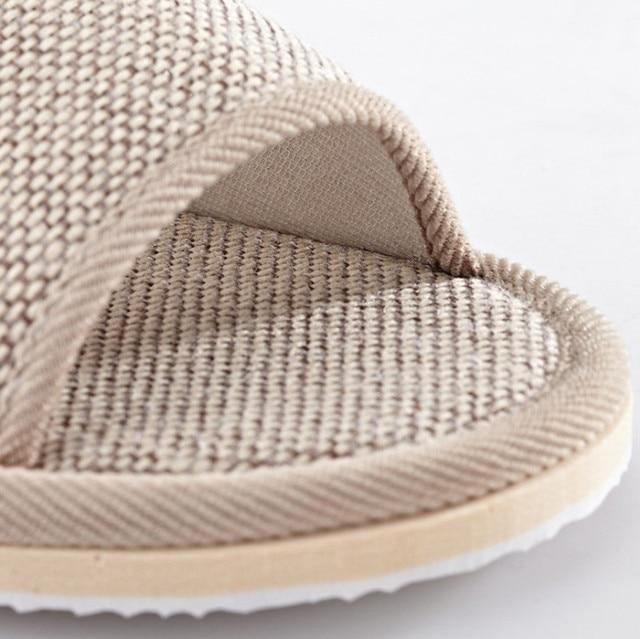 Fiberflax Cotton Linen Slipper Uncategorised Footwear Women color: CO|GY
