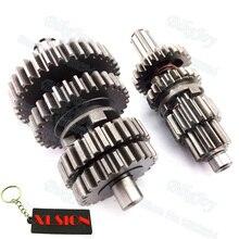 Вал коробки передач YX110 с коробкой передач для горизонтального YX 110cc питбайка-внедорожника Minicross Stomp Orion SDG Atomic SSR