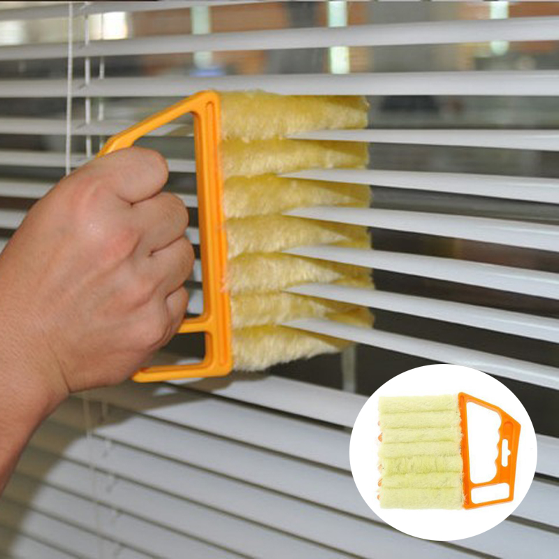 Window Blinds cleaner Brushes novel Tools duster wiper Household magic wash products interesting goods house supplies home items