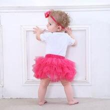 Юбка для девочек летняя одежда скалолазания Одежда младенцев