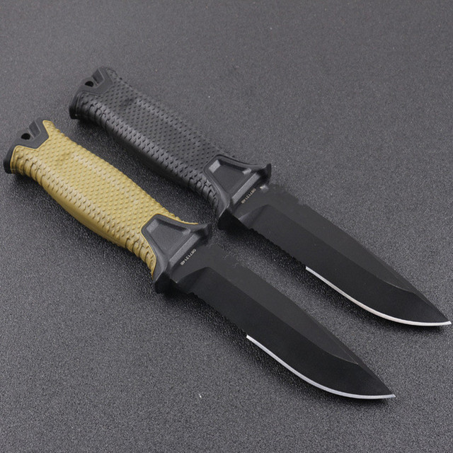 FW-G1500 Fixed Knife Camping Hunting Knives ABS Handle 12C27 Blade Tactical Knife Wildness Survival EDC Tool 2