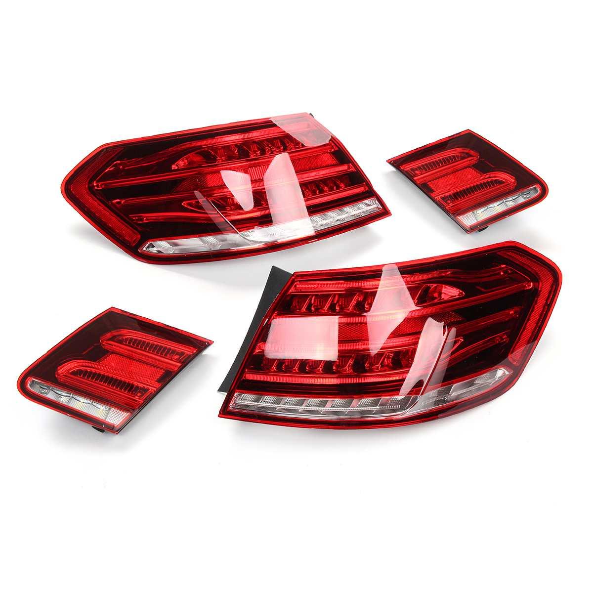 12V LED Tail Lights Brake Stop Reversing Warning Lamp For Mercedes For Benz E Class W212 E350 E300 E250 E63 Sedan Lamp Car Light