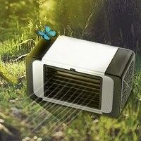 Wygodny chłodnica przenośny klimatyzator Usb nawilżacz przestrzeń Easy Cool oczyszcza wentylator chłodzący do domowego biura w Wentylatory od AGD na