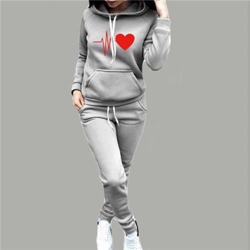 Women Tracksuit Pullovers Hoodies and Black Pants Autumn Winter Suit Female Solid Color Casual Full Length Trousers Outfits 2021 27