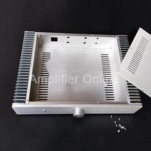 1PCS SD4309A Size 430X90X308mm Aluminum Housing Class A Audio Amplifier Chassis DIY Enclosure Power Amp DIY Case AP44