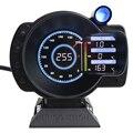 Автомобиль 10000 об/мин датчик OBDII Sinco Tech тире скорость RPM температура воды напряжение Цифровой ЖК-экран дисплей датчик универсиал Новый