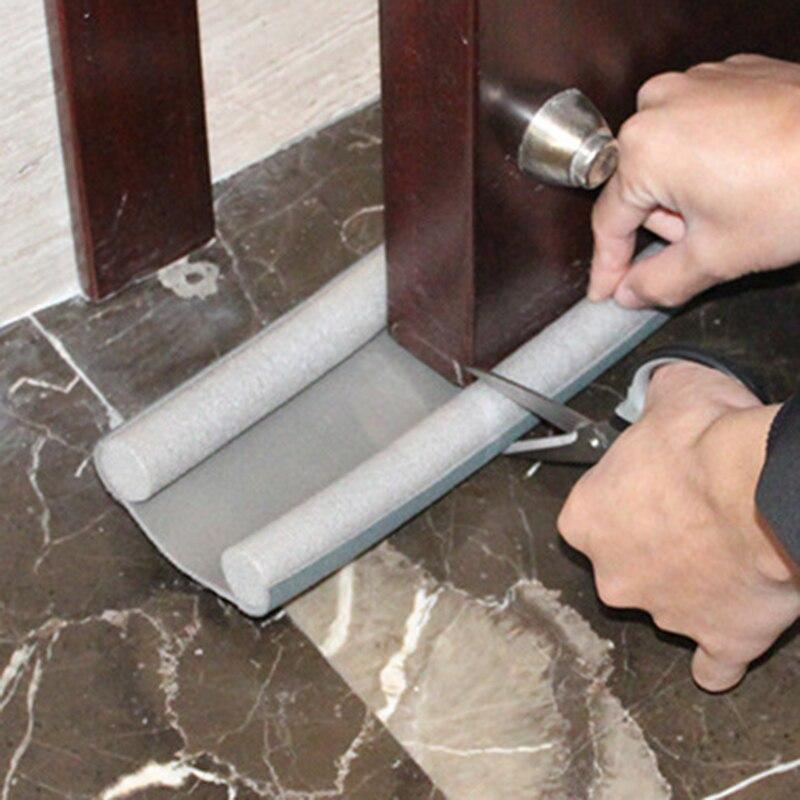 Windshield Under Door Seal Strip Weather Stripping Bottom Protection Soundproof Window Foam Wind Practical Floor Stickers