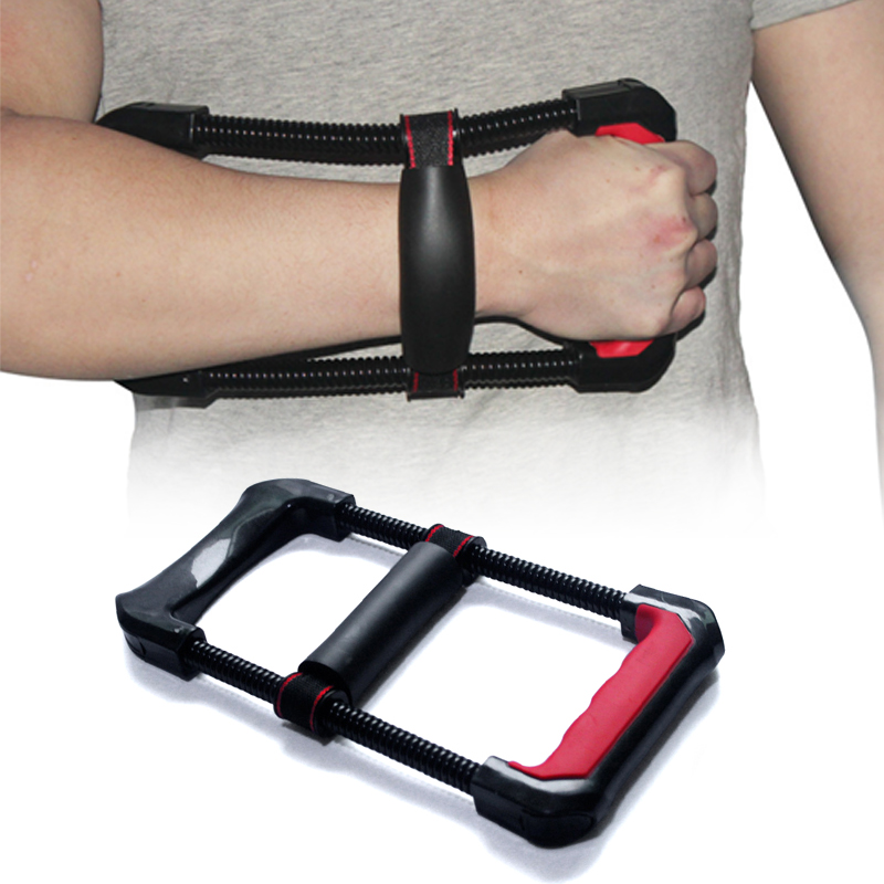 Adjustable Forearm Hand Wrist Force Trainer Power Strengthener exercise grip gym