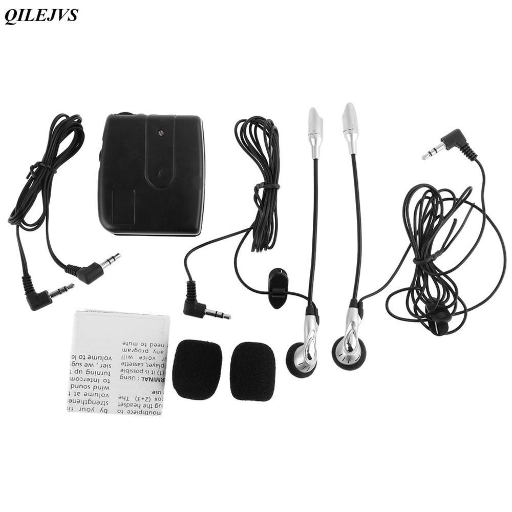 Motorrad Motorrad Helm Intercom Headset 2-weg Kommunikation System 1 Set