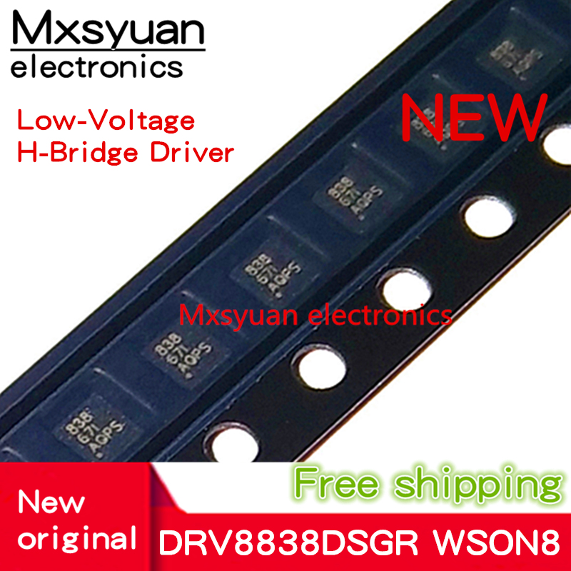 10PCS~100PCS DRV8838DSGR DRV8838DSGT DRV8838 838 WSON8 New Original In Stock