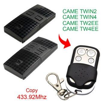 Copy CAME TWIN2 TWIN4 TW2EE TW4EE remote control 433.92mhz copy compatible garage door - discount item  40% OFF Access Control