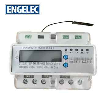 Three Phase Smart Phone App Control WiFi energy meter din rail RS485 communication smart electric meters - DISCOUNT ITEM  3 OFF Tools