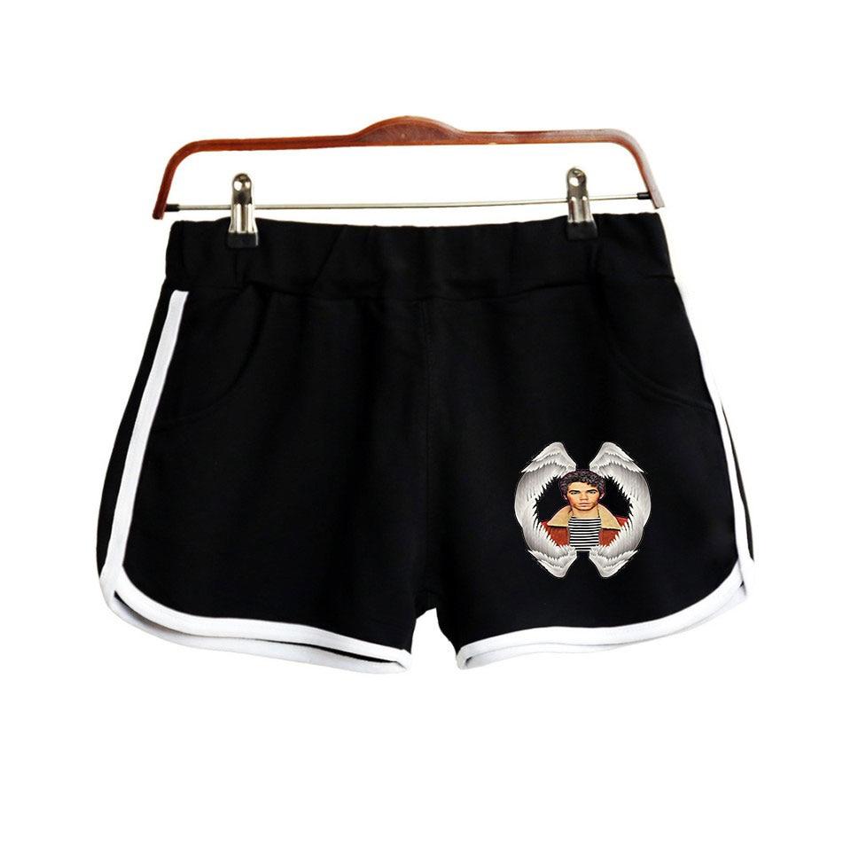 Cameron Boyce 2019 New Shorts Women Casual Fashion 100% Cotton Short Pants Streetwear Harajuki Shorts