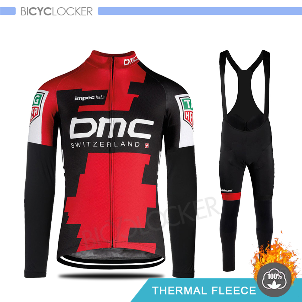 2019 Pro Team Cycling Jersey Winter Thermal Fleece Cycling Clothing Bike Bib Pant Sets Gobiking MTB Ropa Ciclismo Maillot Wear
