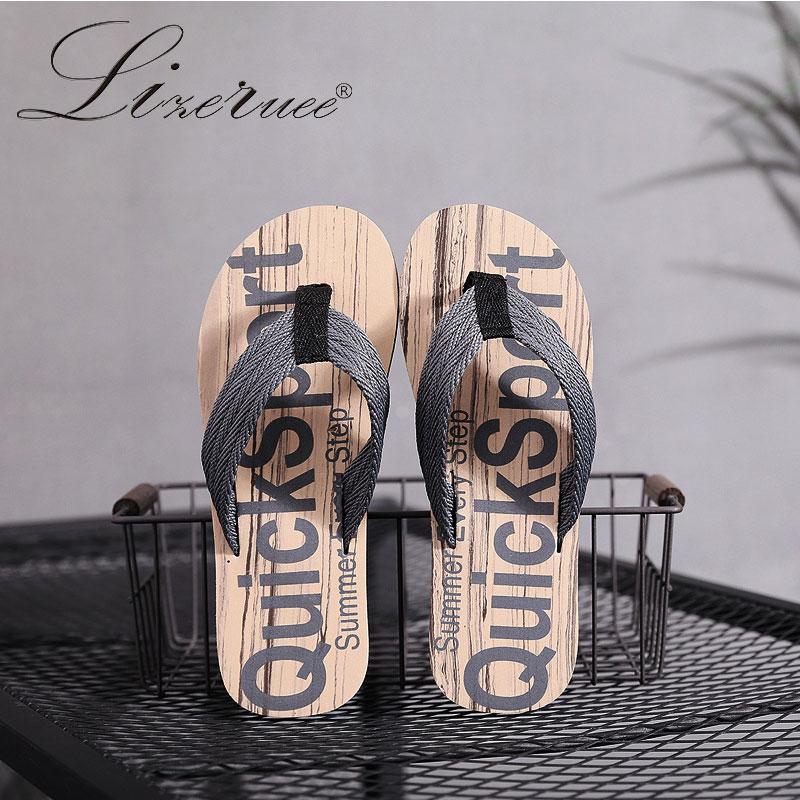 2020 New Arrival Summer Slipper Male Tide Cool Korean Slippers Fashion Outdoor Individuality Anti-slip Man Flip-flops Beach Shoe
