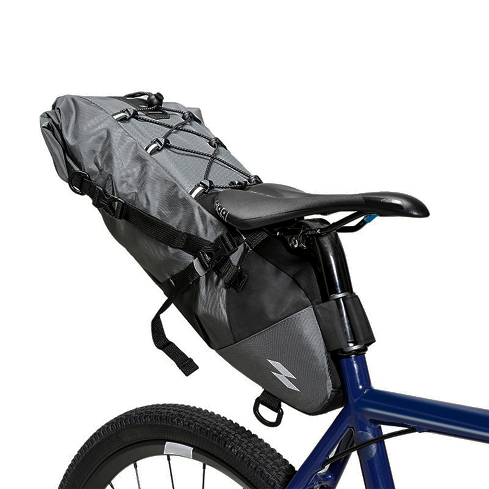 3L - 10L Cycling Bags Waterproof Cycling Foldable Saddle Bag Tail Bag MTB Bike Bicycle Seat Pannier Bag