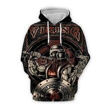Tessffel Unisex Viking Tattoo Warriors Tracksuit NewFashion casual MenWomen 3DPrint Sweatshirts/Hoodie/shirts/Jacket s-6