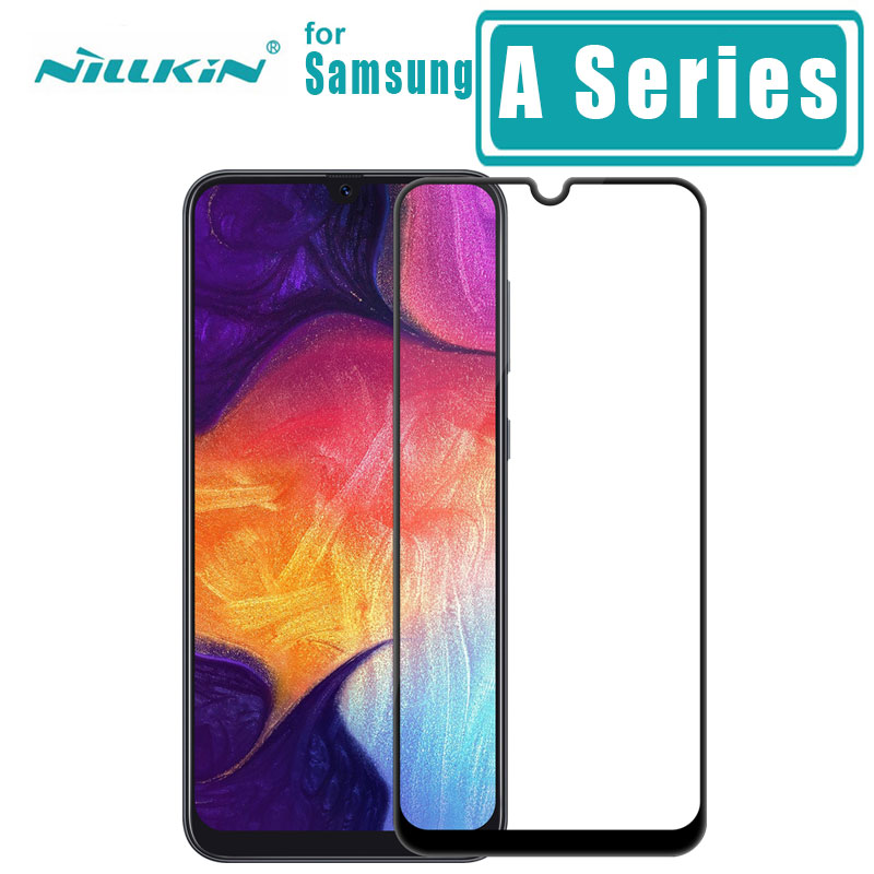 for <font><b>Samsung</b></font> Galaxy <font><b>A10</b></font> A20 A30 A40 A50 A60 A70 <font><b>Tempered</b></font> <font><b>Glass</b></font> Nillkin CP+ 2.5D Full Cover Screen Protector A50 Protective Film image