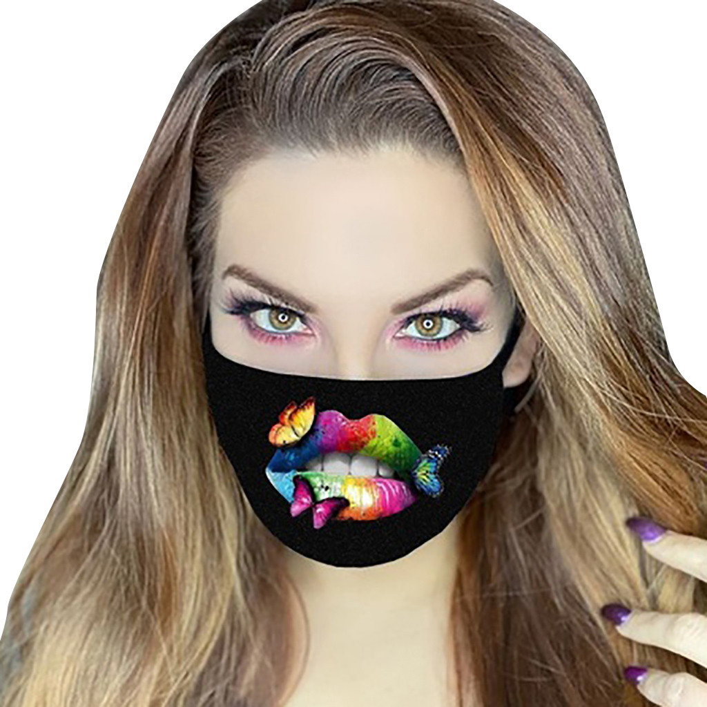 Women Anti Dust Sand Anti Exhaust Sunscreen Face Mask Breathable Cycling Mask Protective Respirator Mascarillas Masque
