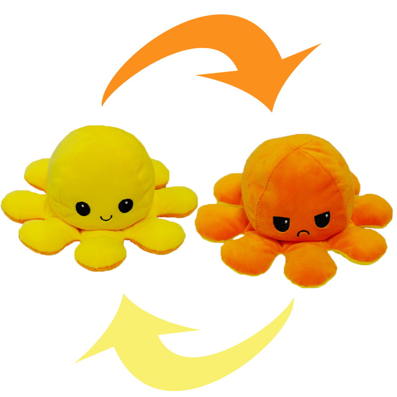 Reversible Octopus Stuffed Toy7