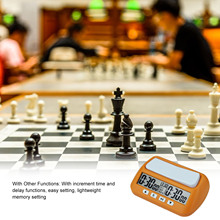 Chess Clock Board Games Digital Chess Timer With Alarm Function Used For Timing Of Board Games Such As Chinese Chess And Chess