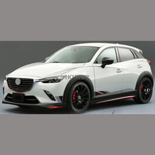 HOTTOP Sport Stil Auto Körper Aufkleber Auto Aufkleber Für MAZDA 2 3 6 CX-3 CX-5 AXELA ATENZA 2016 2017 Sowohl seite Aufkleber Auto Styling