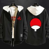 Neue Anime NARUTO Uchiha Sasuke Cosplay Kostüm Sharingan Graben Baumwolle Hoodies-Sweatshirt-Sport Mit Kapuze Pullover Mantel Top