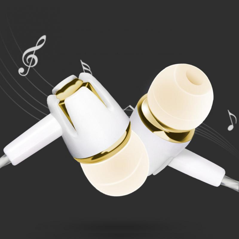 2020 3.5mm Sport Earphone Silicone Running Headphones Type Headset Music Line Control In Ear with MIC for Huawei Xiaomi iPhone 2
