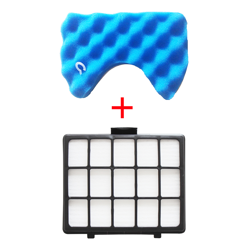 Replacement Sponge Filters & Dust HEPA Filter Kit For Samsung DJ97-00492A SC6520 SC6530/40/50/60/70/80/90 Vacuum Cleaner Parts