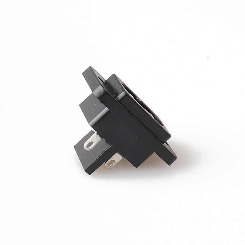 LZ-8-25S Power Kabel Ekstensi Soket IEC C8 Rewireable Wanita Soket Inlet IEC 60320 C8