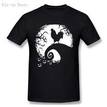 Курица Хэллоуин Мужская футболка с коротким рукавом Футболка