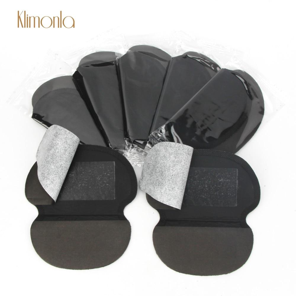 2020 New 100Pcs(50Pairs) Non-Woven Fabrics Underarm Pads Dress Sweat Pad Sweat Perspiration Pad Shield Absorbing Sport Care