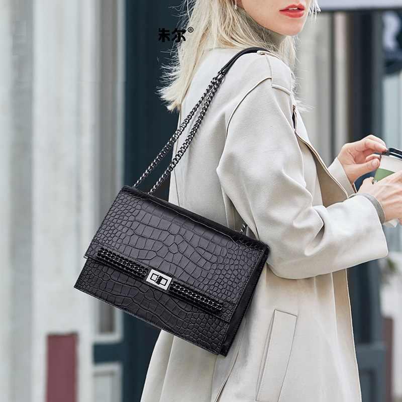 Voorraad Komende! Hot Designer Echt Lederen Tassen 2020 Koe Lederen Vrouw Schoudertassen Mode Portemonnees Handtassen Bolsa Feminina