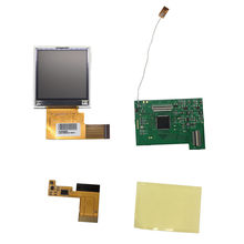 For GBP Screen Backlight for Nintend GBP LCD Screen Gamepad Console Accessories 1 set LCD Screen Replacement Kit(China)