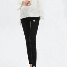 Зимние Бархатные Леггинсы для беременных; брюки для беременных женщин; теплая одежда для беременных; утепленные брюки для беременных; L-4XL одежды